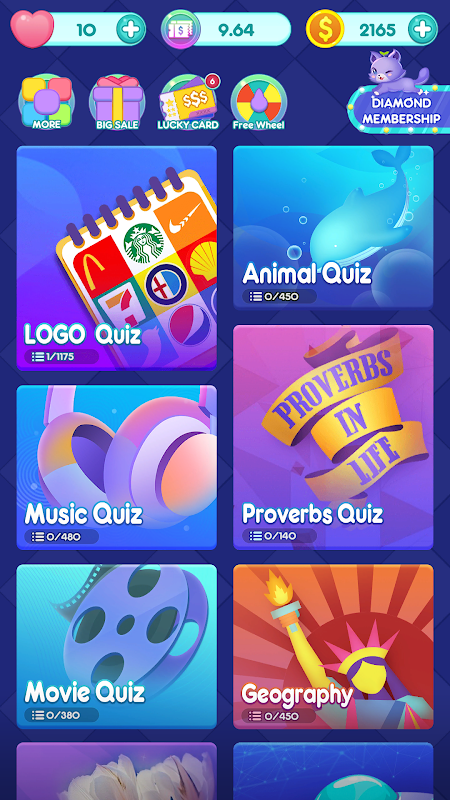 Quizdom - Trivia more than Logo Quiz! screenshot 1