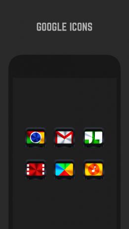 Dark Metal Icon Pack4 4 1 3 tải APK dành cho Android - Aptoide