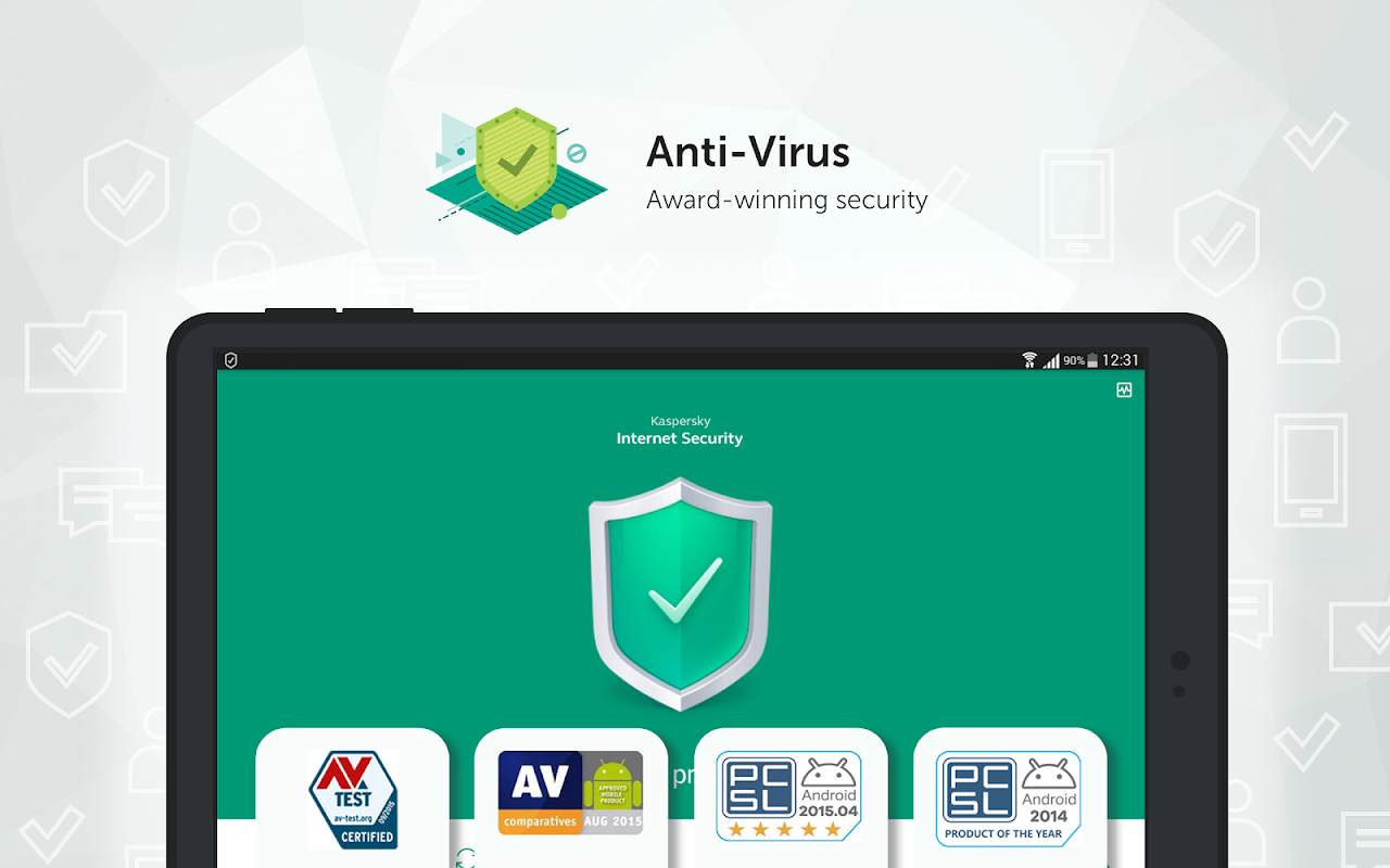 Kaspersky Antivirus: Security, Virus Cleaner screenshot 2