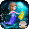 Mermaid sofia the first princess - mermaid princess at sea Icon
