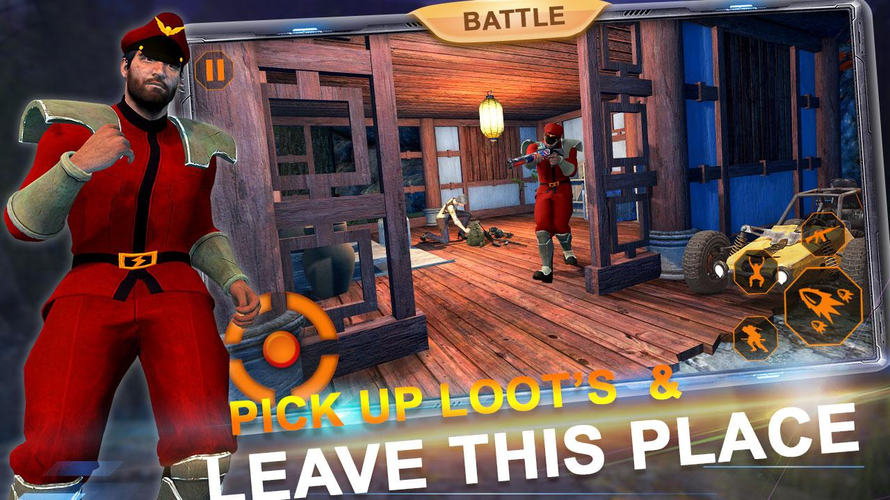 Free Fire Battleground- Firing Squad battle strike screenshot 2