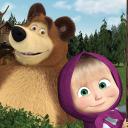 Masha and the Bear. Lernspiele
