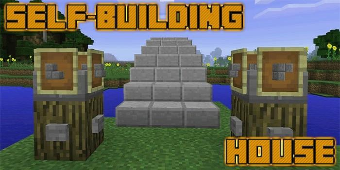 Mod Self Building House Mcpe 3 0 Download Android Apk Aptoide