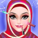 Hijab Wedding Makeover - Salon