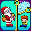 Christmas Santa Pin Games: Offline Free Games 2021