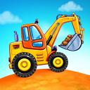 Jogos de caminhão para crianças - construção casas