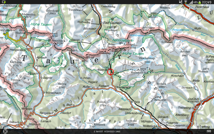 Austrian map mobile 112 download apk for android aptoide austrian map mobile screenshot 7 gumiabroncs Gallery