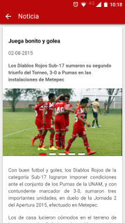 Deportivo Toluca FC screenshot 6