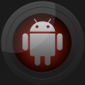 Next Launcher Black Red Theme Icon