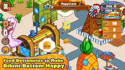 SpongeBob & Friends: Build Nickelodeon's Mega City screenshot 3