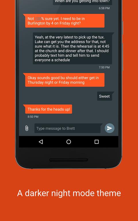 Pulse SMS (Phone/Tablet/Web) screenshot 1
