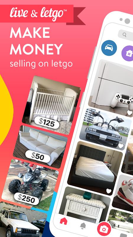 letgo: Buy & Sell Used Stuff, Cars, Furniture screenshot 1