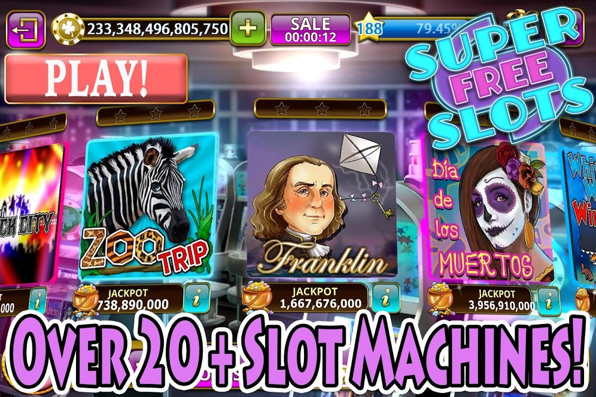 Slots: Super Free Slot Games Casino Slot Machines screenshot 1