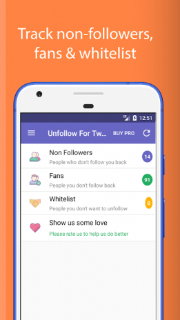 Unfollow for Twitter 1 7 Download APK for Android - Aptoide