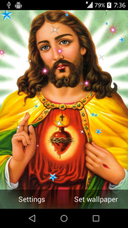 Jesus Live Wallpaper Screenshot 4