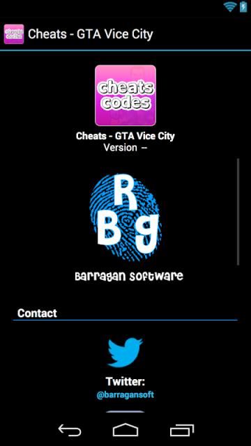 Gta Vice City Cheats Codes App