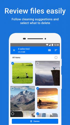 Files do Google: libere espaço no seu celular screenshot 1
