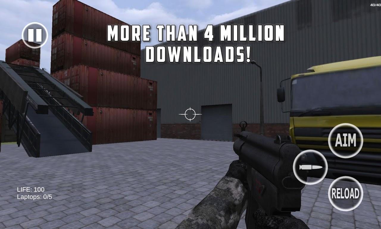Battlefield Shooting Game 3D screenshot 1