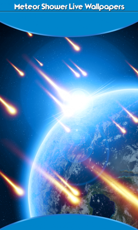 Meteor Shower Live Wallpapers 1 6 Download Apk For Android