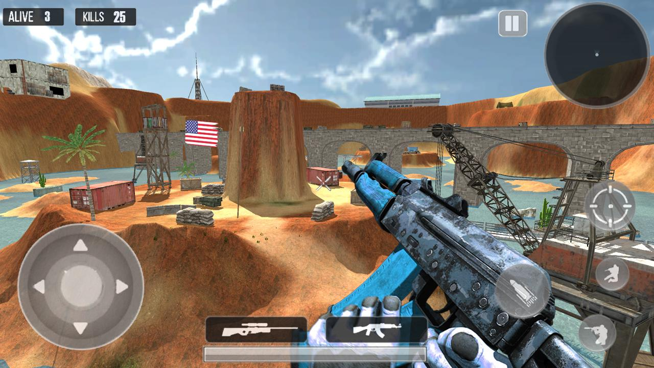 Mountain Sniper 3D Shooter screenshot 2