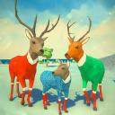 ❄ Deer Simulator Christmas Game 3D Family Xmas