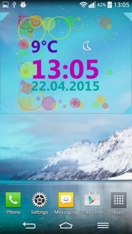 Wetter Uhr Widget 3 0 Laden Sie Apk Für Android Herunter Aptoide