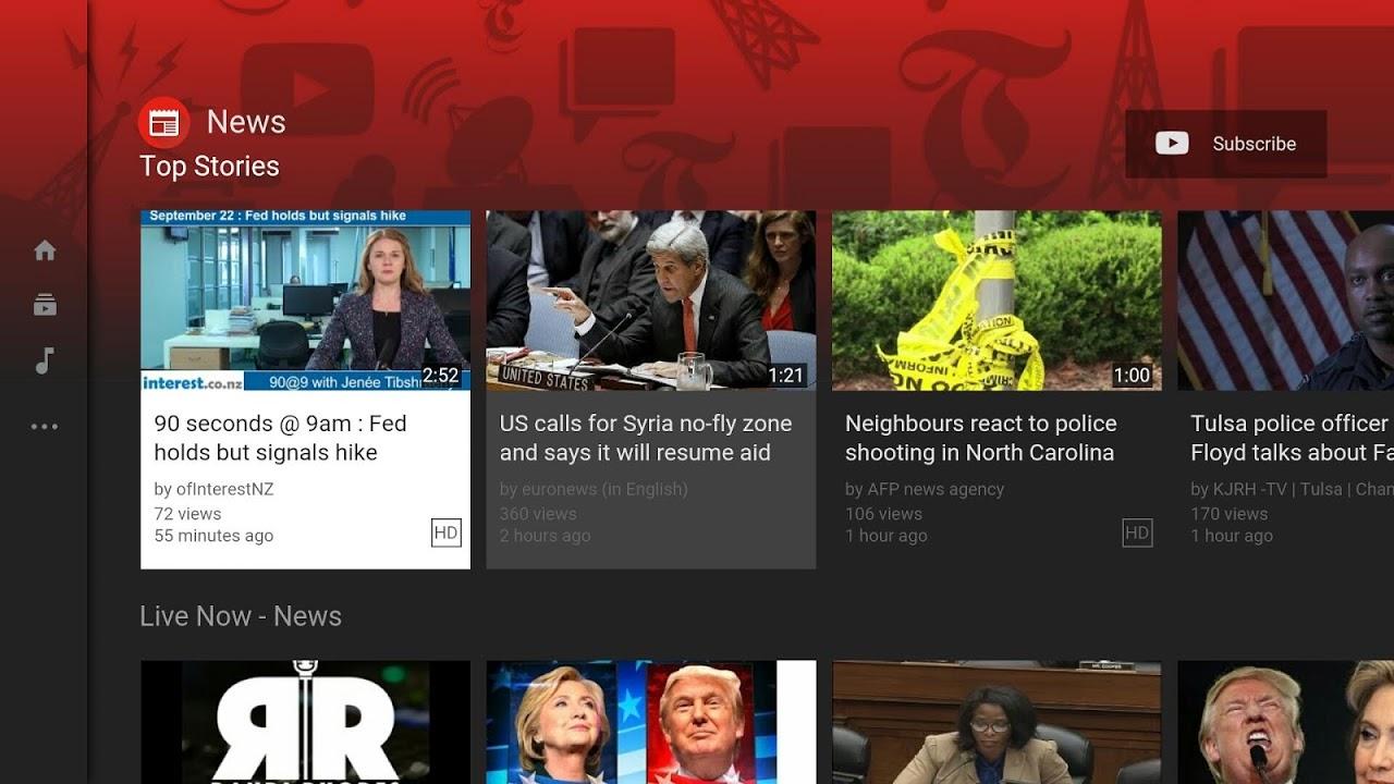 Smart YouTube TV Beta screenshot 1