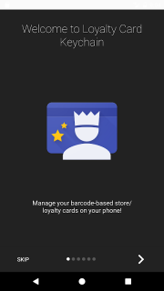 Loyalty Card Keychain screenshot 1
