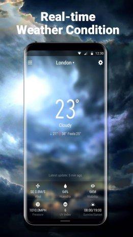 3D Live Weather Alert Widget 9 1 0 1500 APK دانلود برای