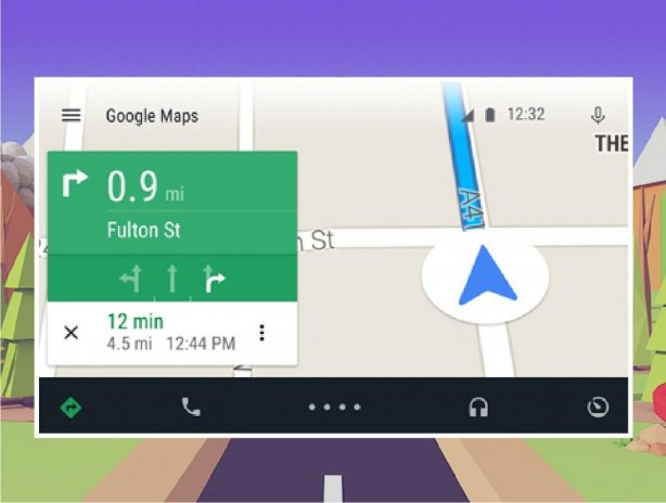 Guide for Android Auto Maps Media Messaging Voice 1 1 Download APK