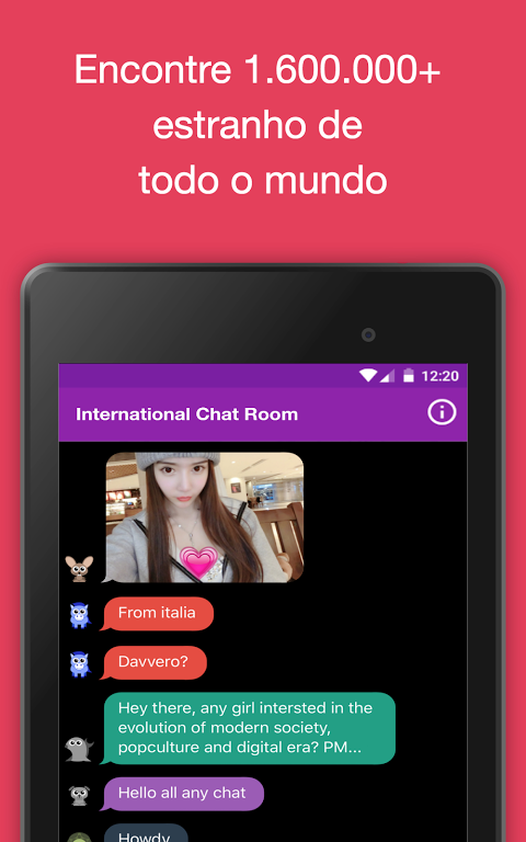 Local chat rooms for android