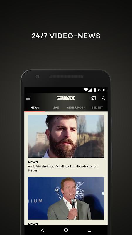 ProSieben MAXX – TV, Mediathek screenshot 2