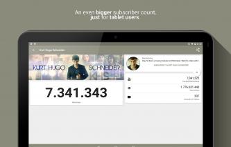 Realtime Subscriber Count Screenshot
