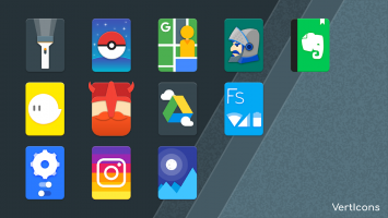 Verticons Icon Pack Screen