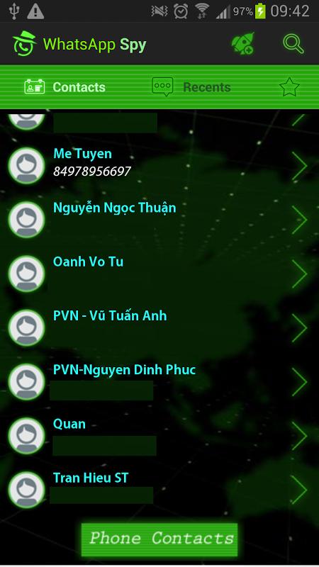 SpyHuman Monitoring App