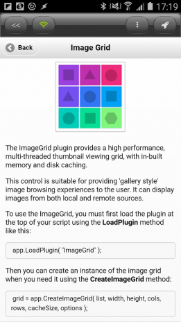 DroidScript - ImageGrid Plugin 1 01 Download APK for Android - Aptoide