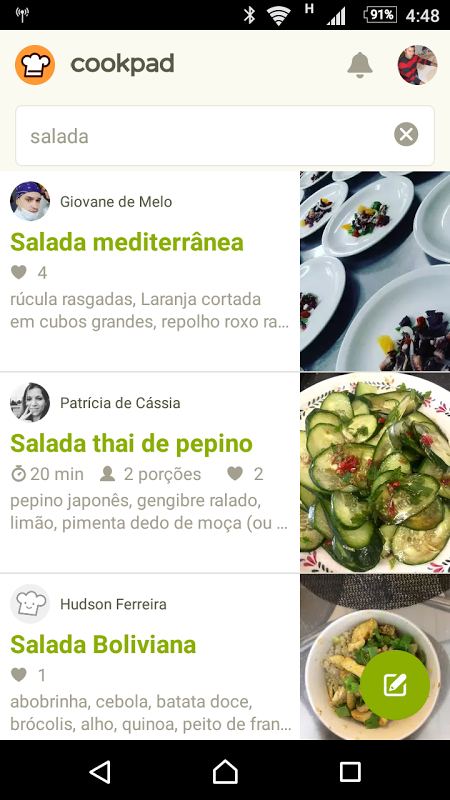 Cookpad - Receitas Caseiras screenshot 2