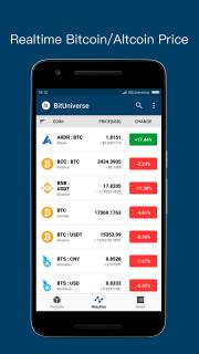 BitUniverse - Crypto Portfolio / Bittrex tracker screenshot 6