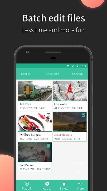 MoboPlayer screenshot 1