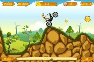 Moto Race -- motorbike bike drive racing challenge speed game Screen