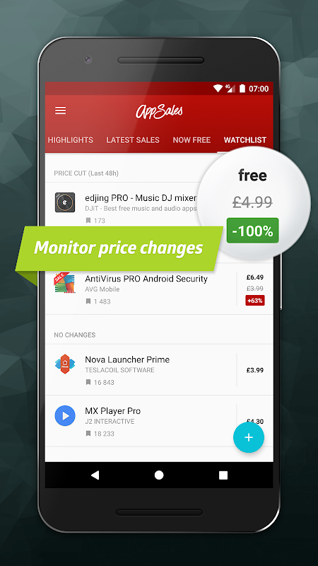 AppSales: Paid Apps Gone Free & On Sale screenshot 3