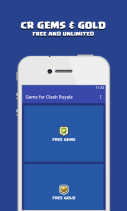 Gems For Clash Royale : Guide Screenshot