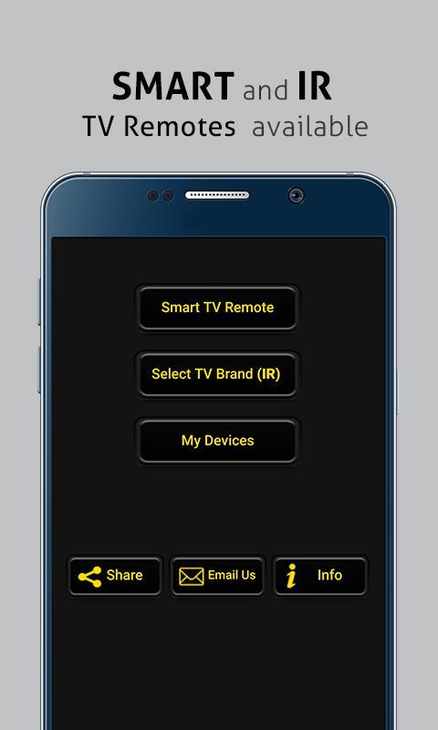 Universal TV Remote Control screenshot 1