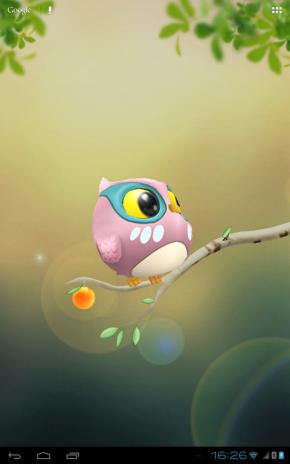 ... owl 3d wallpaper screenshot 6 ...