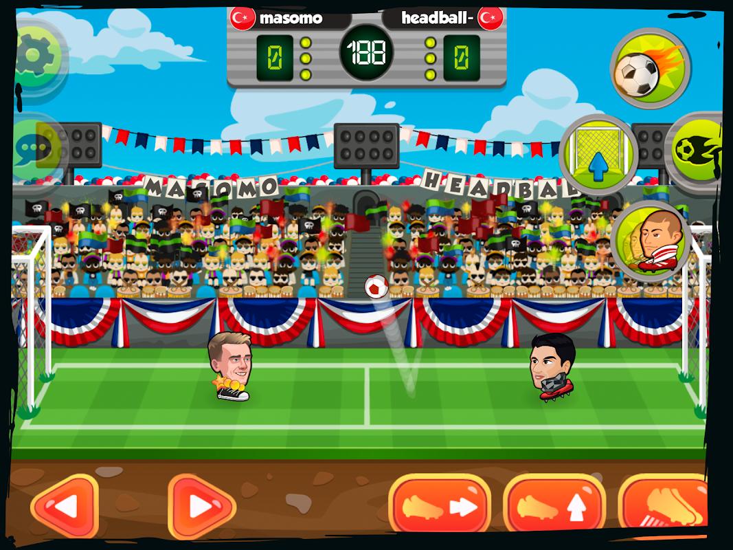Online Head Ball screenshot 1