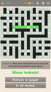 Crosswords - Spanish version (Crucigramas) screenshot 11