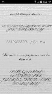 Fonts - Kiss for FlipFont free screenshot 2