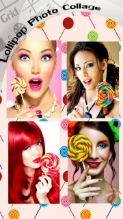 Lollipop Photo Collage screenshot 2