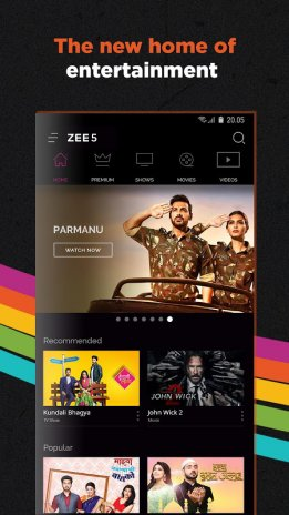 ZEE5 - Movies, TV Shows, LIVE TV & Originals 15 23 13