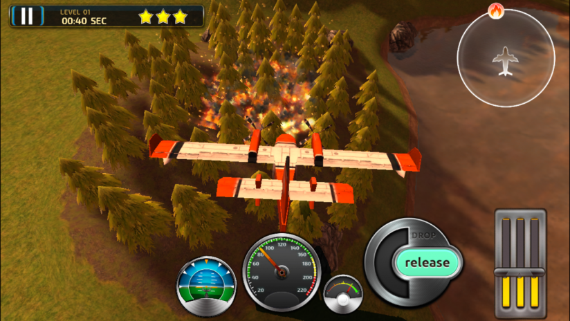 Air Support Firefighter Simulator | Pilot Flying Games 2 0